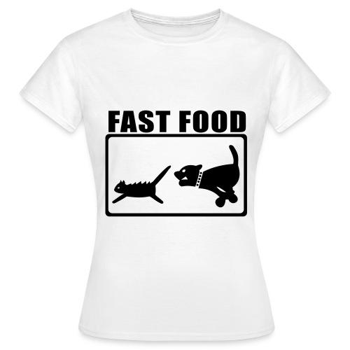 fst food - Women's T-Shirt