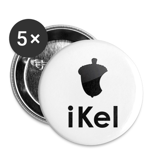 iKel button - Buttons middel 32 mm (5-pack)