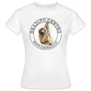Bradipo Dentro Brand - Maglietta da donna