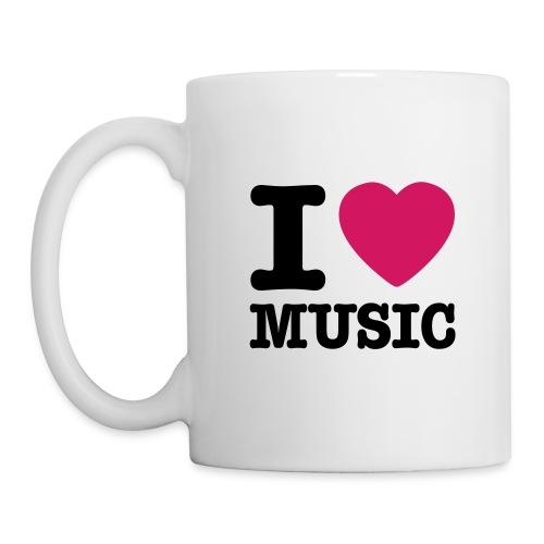 Casquette DJ - Mug blanc