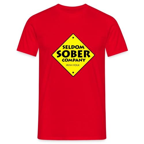 Männer T-Shirt - st. patricks day,seldom sober company,patricks,musik,irish folk,irish,folkband