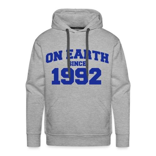 On Earth Since 1992 - herr - Premiumluvtröja herr
