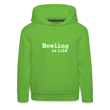 bowling is life Kids' Tops
