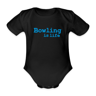 bowling is life Baby Bodysuits