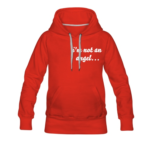 not an angel, but a liar - Frauen Premium Hoodie