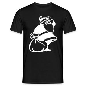 CC X-mas Zwart - Mannen T-shirt