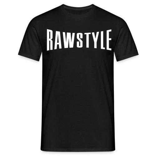 Rawstyle logo black tshirt - Men's T-Shirt