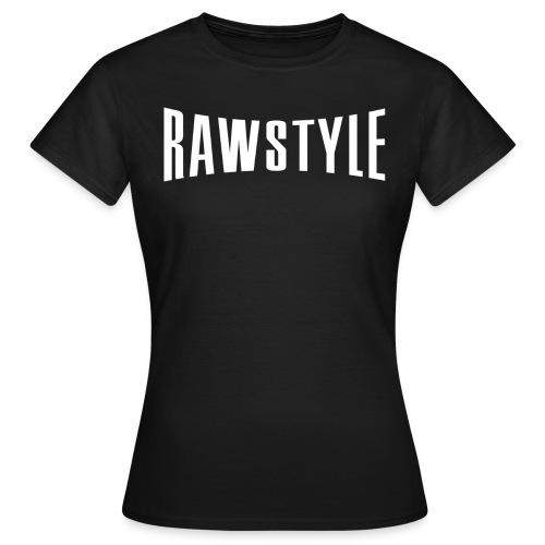Rawstyle logo black tshirt - Women's T-Shirt