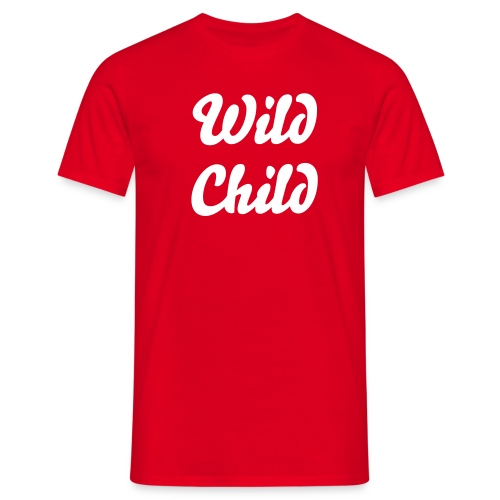 Wild Child - Männer T-Shirt