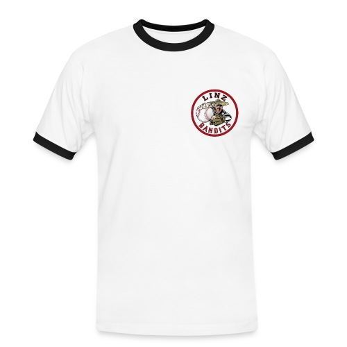 Linz Bandits Mens Fan Shirt Nr. 1 - Männer Kontrast-T-Shirt
