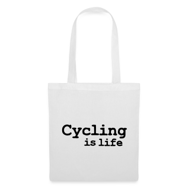 cycling is life Bags