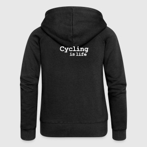 cycling is life Coats & Jackets - Women's Premium Hooded Jacket