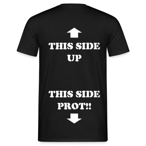 This side - Bianco (schiena) - Maglietta da uomo