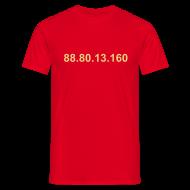 T-shirts ~ Mannen T-shirt ~ IP 88.80.13.160 (creme opdruk)