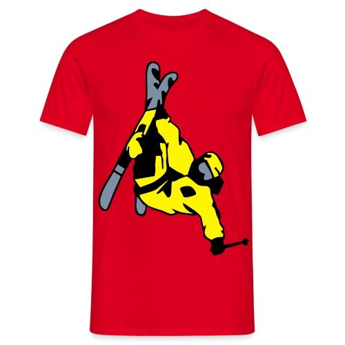 king of  ski - Männer T-Shirt