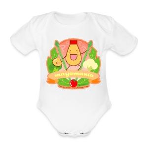 Mayomania - Organic Short-sleeved Baby Bodysuit