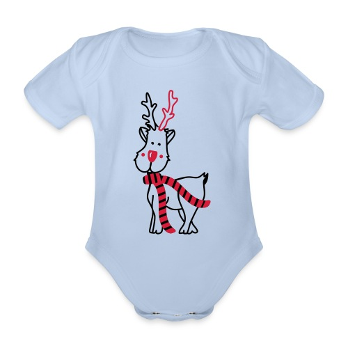 Body bébé - Organic Short-sleeved Baby Bodysuit
