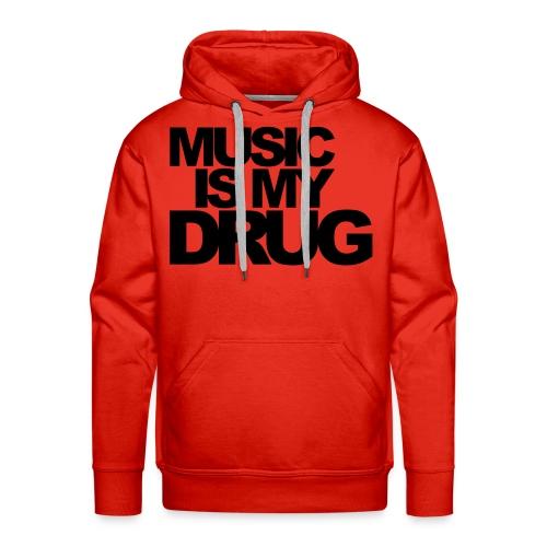 Drug - Sweat-shirt à capuche Premium pour hommes