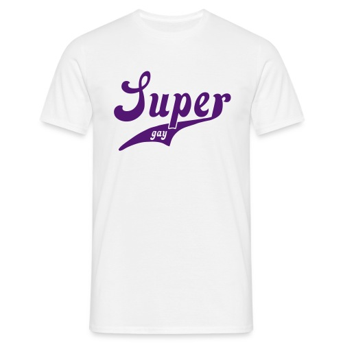 Super Gay - Men's T-Shirt