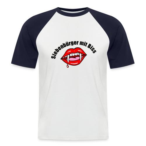 Siebenbürger mit Biss - Männer Baseball-T-Shirt