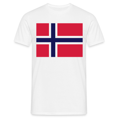 Flag Norway 2 (3c) T-Shirts