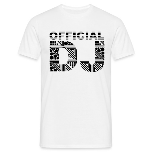 Official DJ Male T-Shirt - Men's T-Shirt