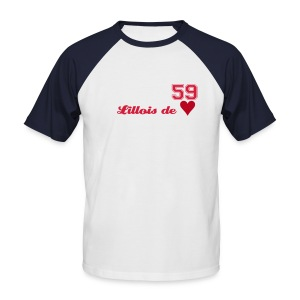 Tee Shirt Lille - T-shirt baseball manches courtes Homme