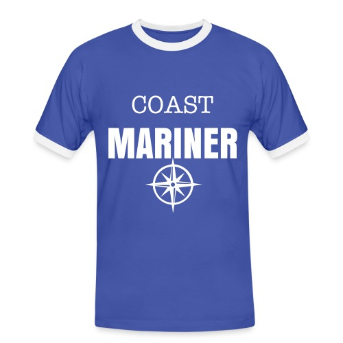 COAST MARINER - BICOLORS BLUE/WHITE - T-shirt contrasté Homme