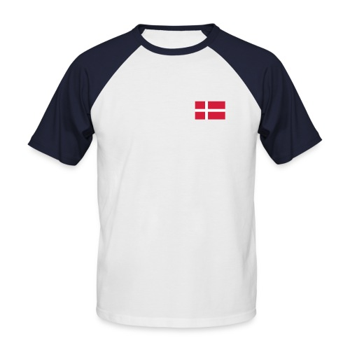 T-SHIRT DANEMARK WHITE - T-shirt baseball manches courtes Homme