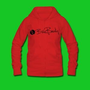 Born Beauty rode Hooded Jacket - Vrouwenjack met capuchon Premium