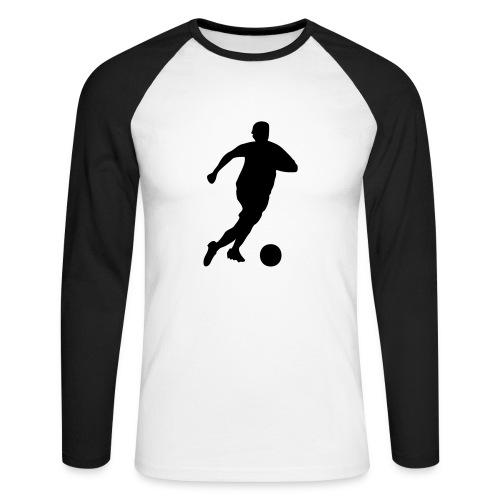 JFG Fan Shirt Fussball - Männer Baseballshirt langarm