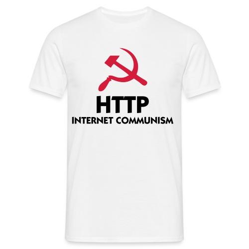 Internet Communism - T-shirt herr