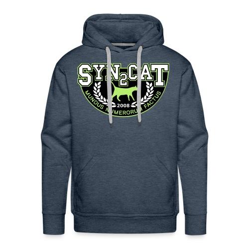 syn2cat college hoody - Men's Premium Hoodie