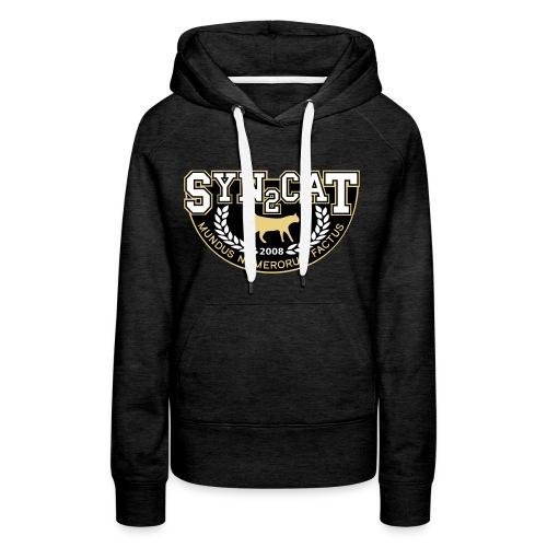 syn2cat college shirt - Women's Premium Hoodie