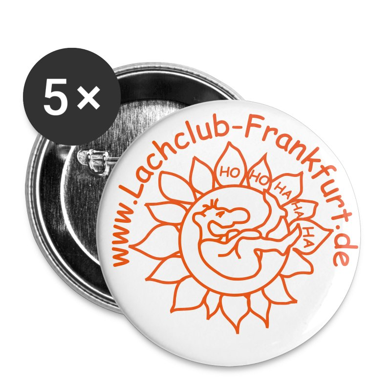 Lachclub-Frankurt Button - Buttons groß 56 mm
