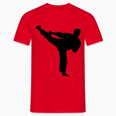 martial arts judo karate kick T-shirts