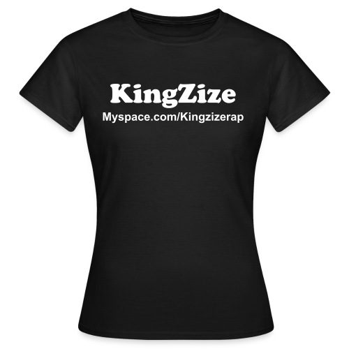 KingZize | Girlie Basic  - Frauen T-Shirt