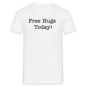 Free Hugs Today - Männer T-Shirt