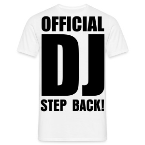Official DJ - Männer T-Shirt