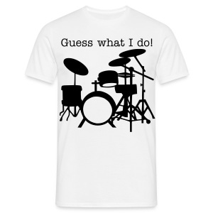 Guess Drums 2 - Männer T-Shirt