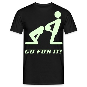 Go for it! - Männer T-Shirt