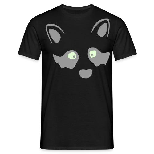 Waschbär Relief - Männer T-Shirt