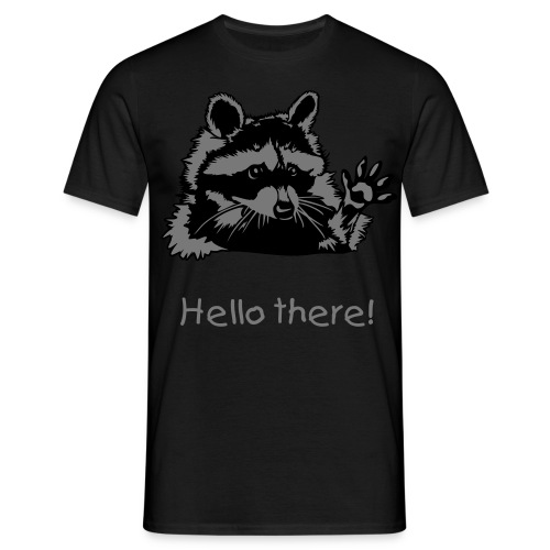 Hello there! - Männer T-Shirt