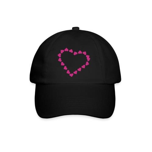 pink heart - Baseballcap
