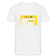 T-Shirts ~ Men's T-Shirt ~ Harland & Wolff Cranes