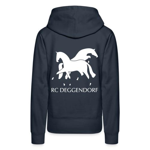 Kapuzensweater für Reiterinnen - Frauen Premium Hoodie