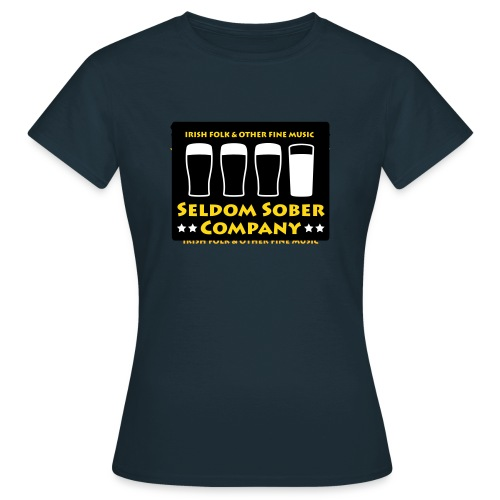 Seldom Sober Company - Bier und Milch - Frauen T-Shirt