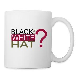 Black or White Hat? Cup - Tasse