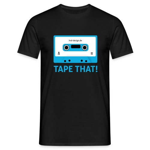 Tape That - Männer - Männer T-Shirt