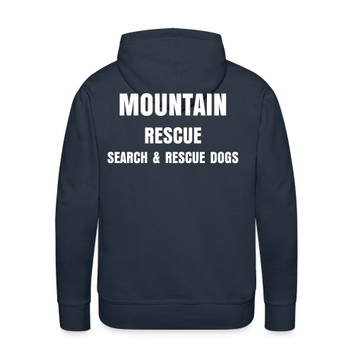 Mountain Rescue SAR Dogs Hoodie - Men's Premium Hoodie